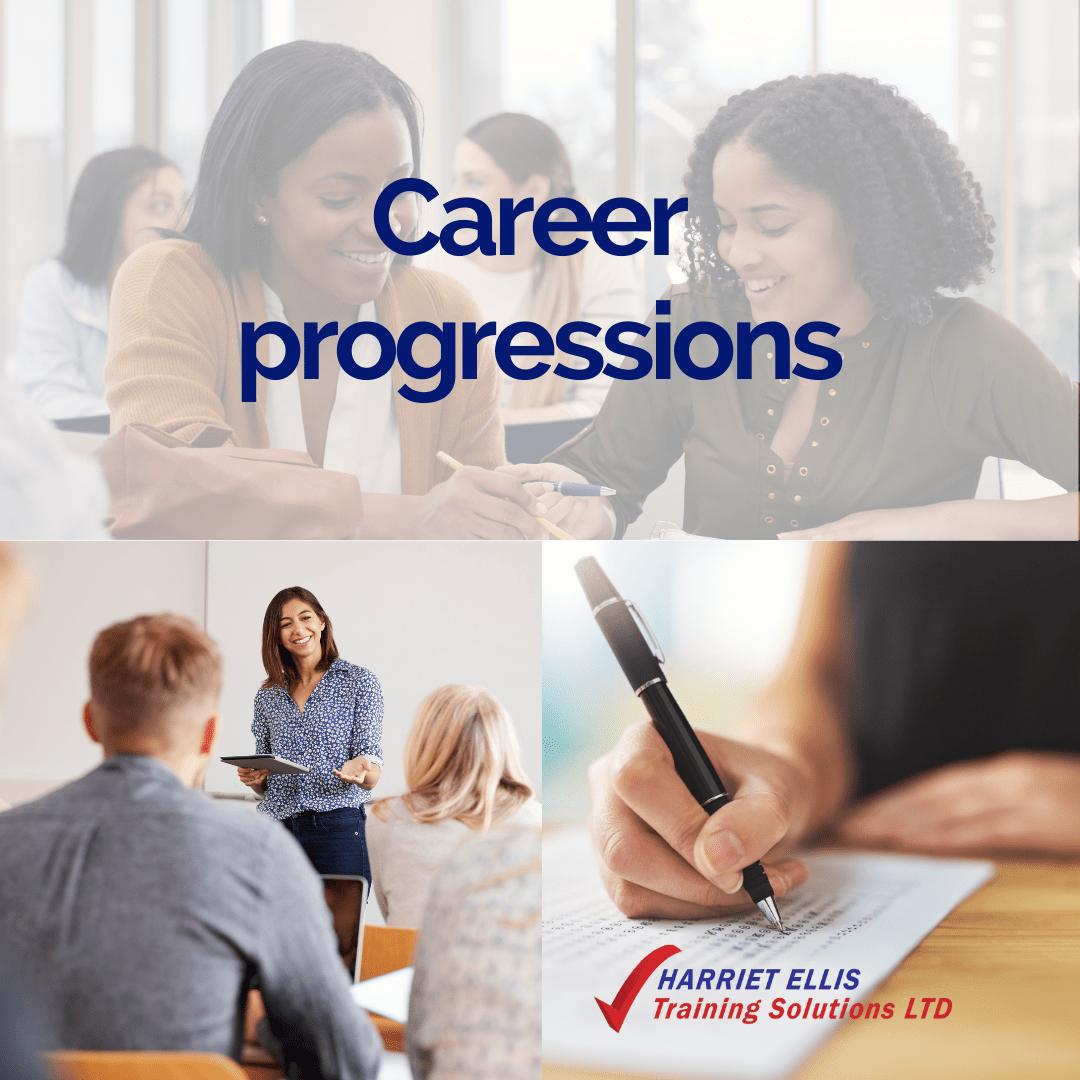 Career progressions with Harriet Ellis Training Solutions