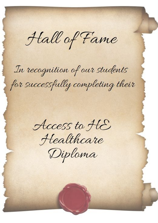 Access to HE Healthcare Diploma